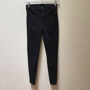 American Eagle Jeans Stretch Super High Rise